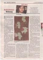 Artikel in Kleiner Zeitung Stadtzeitung G7 von Natascha Gangl
