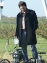 Winfried Ritsch auf Ölpumpe